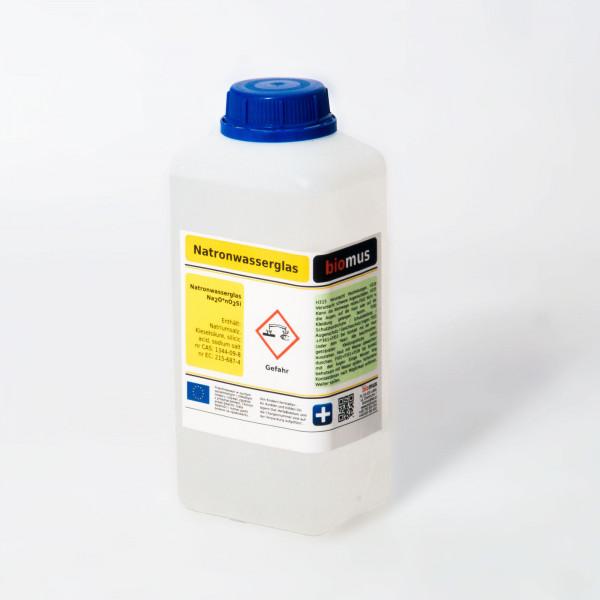 1 Liter (1,3 kg) Natronwasserglas Natriumsilikat auch in 2,3,5,10,20L erhältlich