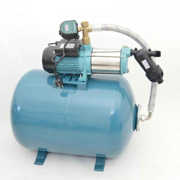 TOP ! Hauswasserwerk Hauswasserautomat 100L + Pumpe 1300W + Trockenlaufschutz