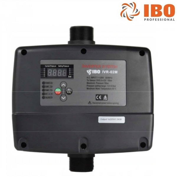 Pumpensteuerung Inverter Frequenzumrichter für Pumpen 0,37 - 1,5kW Gartenpumpe Tiefbrunnenpumpe