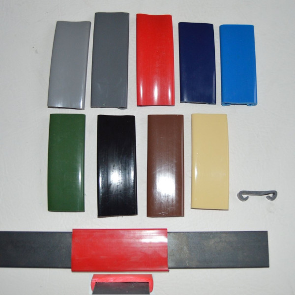 1m PVC Handlauf Kunststoffhandlauf Treppenhandlauf Gummi 40x8mm dunkelgrau
