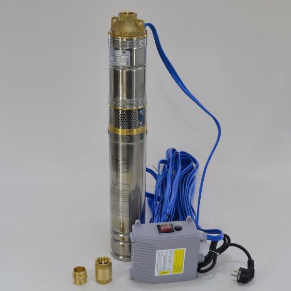 """4"""" Tiefbrunnenpumpe 2700l/h 11 bar f. Sandiges Wasser Wasserpumpe RV"""