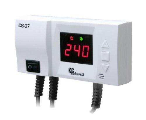 Steuergerät CS-07 Steuerung f. Heizungspumpe mit Temperaturanzeige + Antifrost