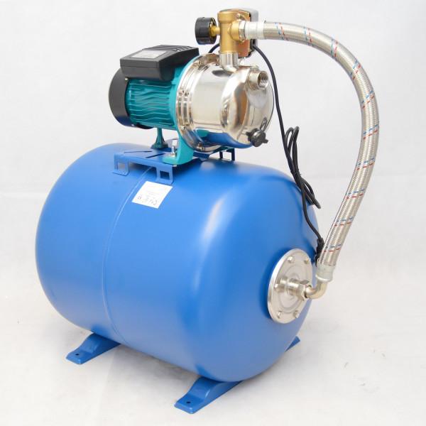 Hochwertiges 50 L Hauswasserwerk Hauswasserautomat Gartenpumpe 1,1kW - 5 bar