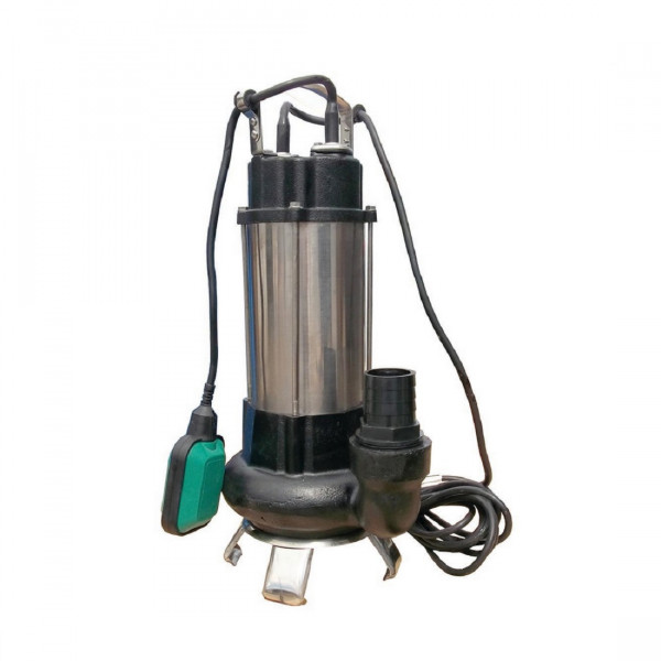 Fäkalienpumpe Tauchpumpe Schmutzwasserpumpe 1,1kW freier Durchlauf bis 35 m