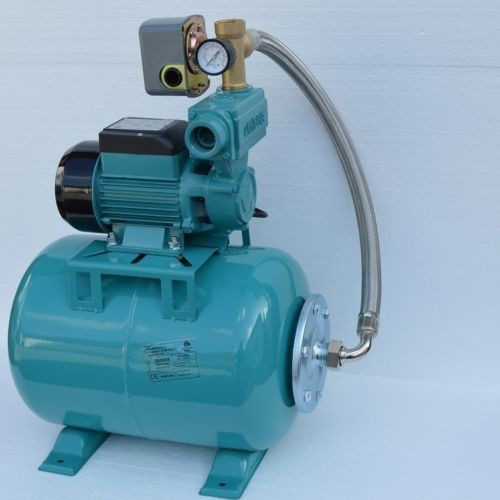 24 L Hauswasserwerk Pumpe 250 W Hauswassrautomat Gartenpumpe