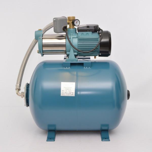 100 L Hauswasserwerk Gartenpumpe 1300 INOX Hauswasserautomat 5400L/h - 5,5bar