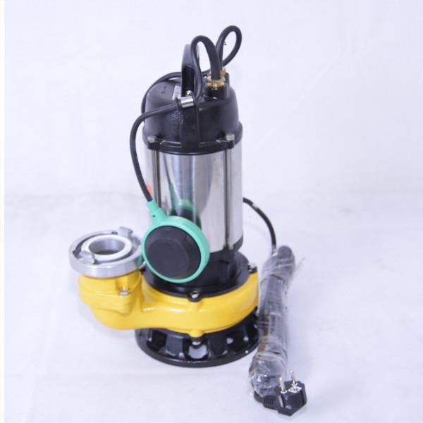 Professionelle Fäkalienpumpe Schmutzwasserpumpe Tauchpumpe 750W-300l/min + Storz
