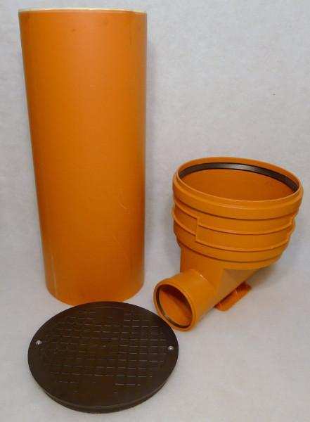 KG Schacht DN 400 Komplett SET Rohr Kanal Entwässerung einf.