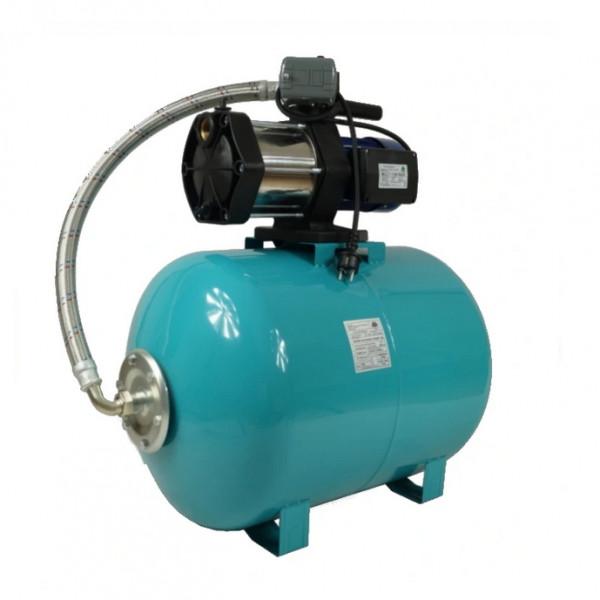 Hauswasserwerk 100 Liter Pumpe Multi 1300 INOX mit Druckschalter