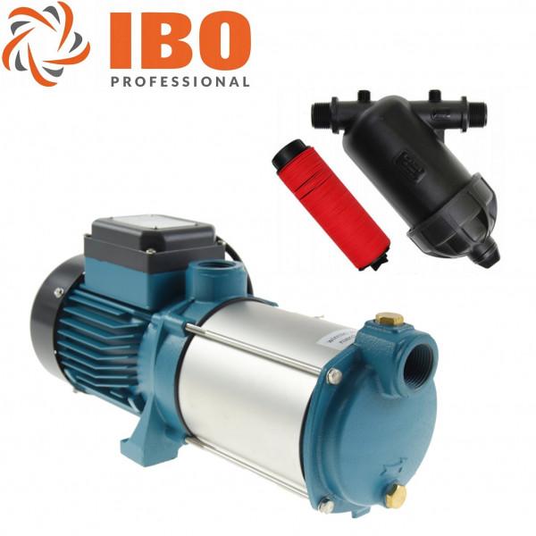 Gartenpumpe Wasserpumpe 3000 Watt / 230V INOX 11400 L/h 7bar + Vorfilter