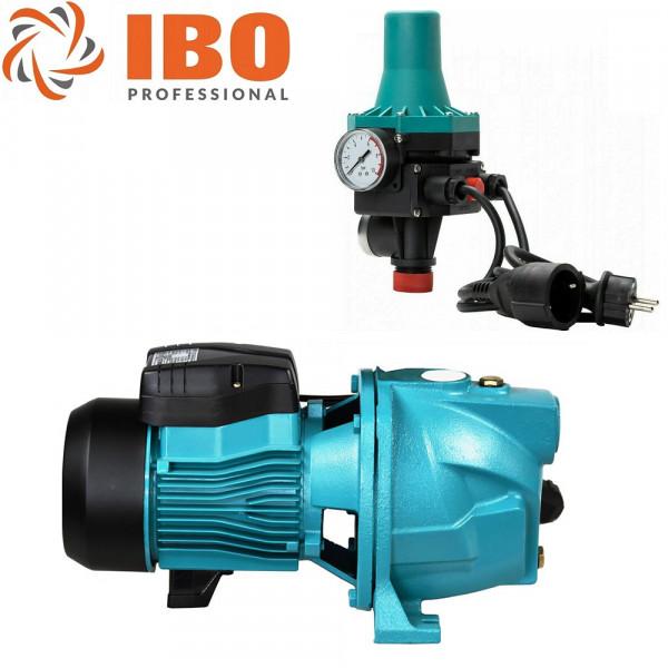 Hochwertiges Hauswasserautomat Gartenpumpe 1,1kW - 4,5bar - 4200L/h - Pumpe JSW100 + PC-13