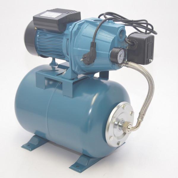 24 L Hauswasserwerk Pumpe1100 W Hauswassrautomat Gartenpumpe