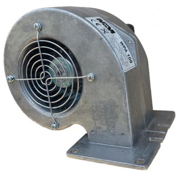 Druckgebläse WPA 108 41W Ofengebläse Holzvergaser Druckventilator Kesselgebläse