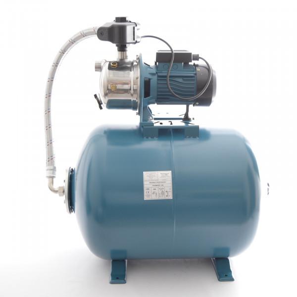 Hochwertiges 50 L Hauswasserwerk Hauswasserautomat Gartenpumpe 1,1kW - 5 bar PC9