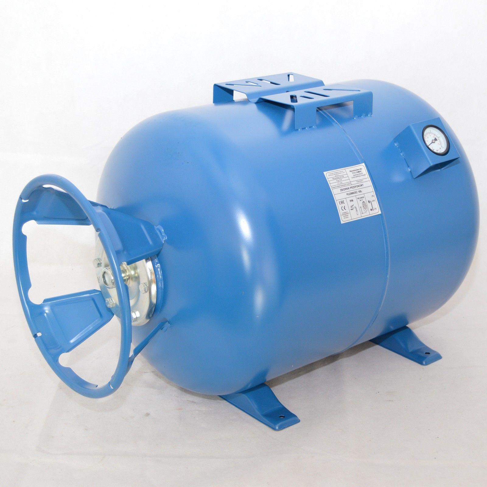 Membrankessel 50 L Hauswasserwerk Ausdehnungsgefäß horizontal Druckkessel