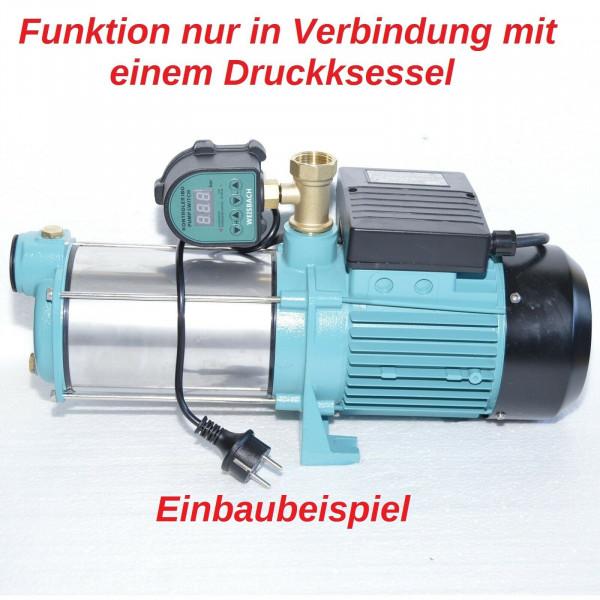 Gartenpumpe MHI1300 - 1300W - 6000 L/h 5,5bar + elektronischer Druckschalter + Trockanlaufschutz