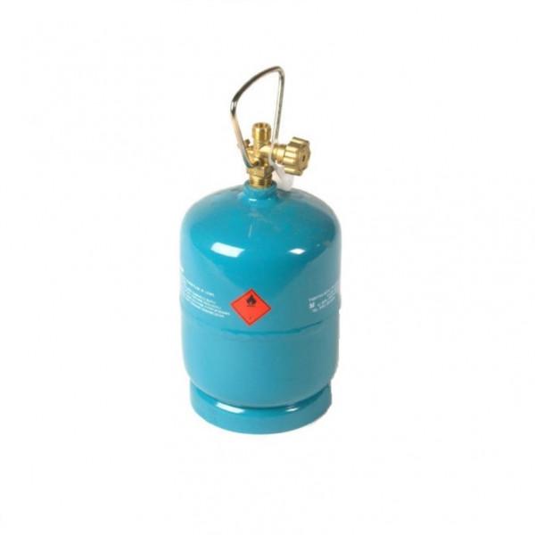 1kg leere befüllbare Gasflasche Propan Butan Grill Camping Gaskocher