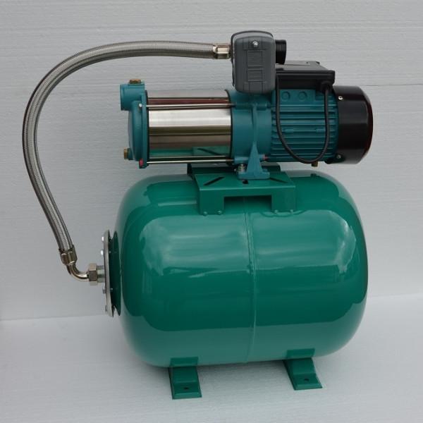 Hauswasserwerk 50Liter + 1300Watt Pumpen INOX + Druckschalter