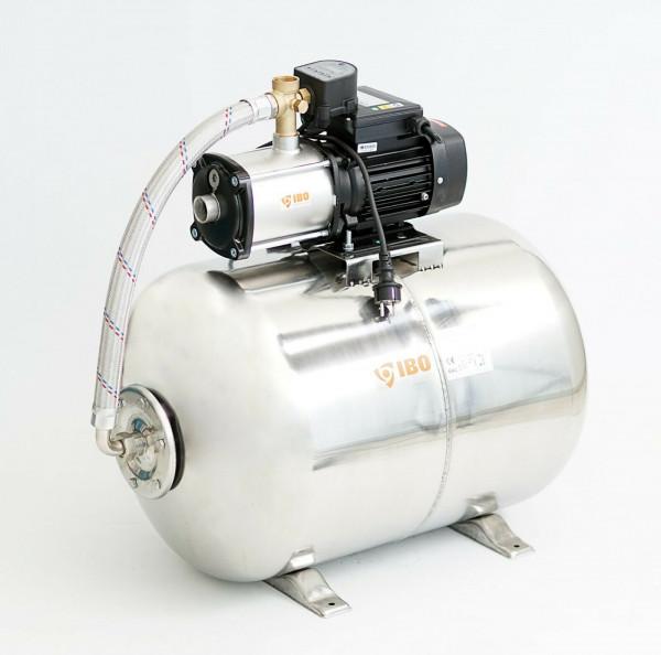 Hochwertiges Edelstahl Hauswasserwerk Hauswasserautomat 100L - 6,7bar - 5100L/h