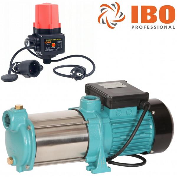 Kreiselpumpe Hauswasserwerk Gartenpumpe INOX 1300 Watt 6000 L/h 5,5 bar