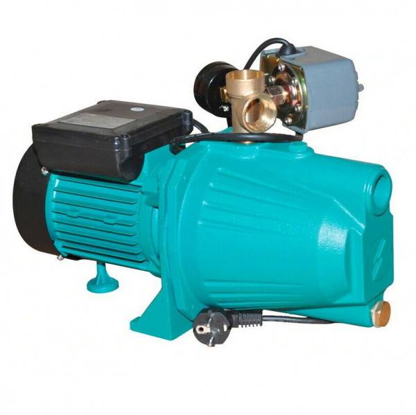 Kreiselpumpe Gartenpumpe 1100 Watt 3600 L/h 5 bar Messingrad + Druckschalter