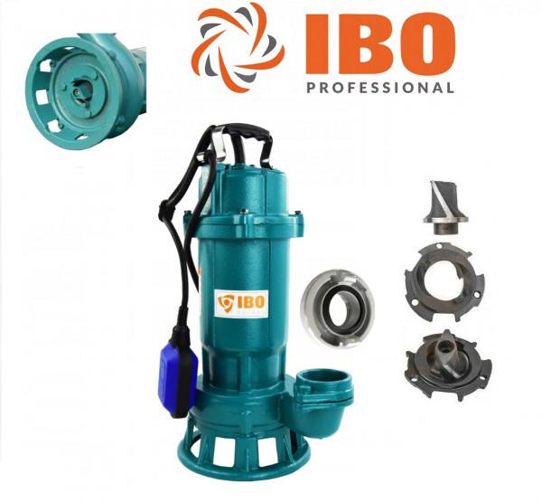 Fäkalienpumpe CTR550 Tauchpumpe Schmutzwasserpumpe 550W - 15000l/h m. Schneidmesser + Storz