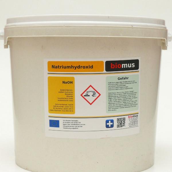 5 kg Ätznatron 100% Ätzsoda NaOH Natriumhydroxid Mikroperlen Feststoff
