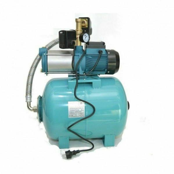 Hauswasserwerk 50L Gartenpumpe 1300W mit Trockenlaufschutz 6000l/h 5,5bar