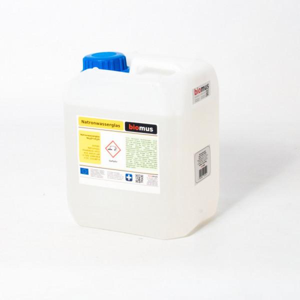 5 Liter ( 6,5 kg ) Natronwasserglas Natriumsilikat