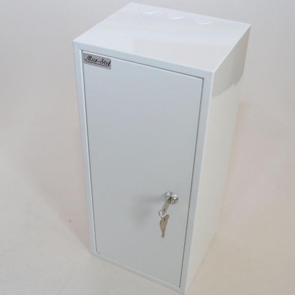 Zählerschrank Sicherungskasten Verteilerkasten für 1 x Zähler 1-Ph + 6 Sicherungen