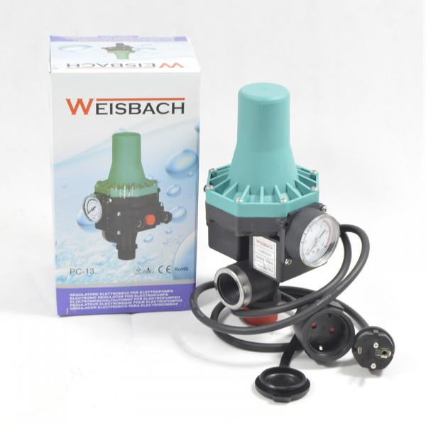 Pumpensteuerung WEISBACH PC13 für Gartenpumpe Hauswasserautomat Druckschalter
