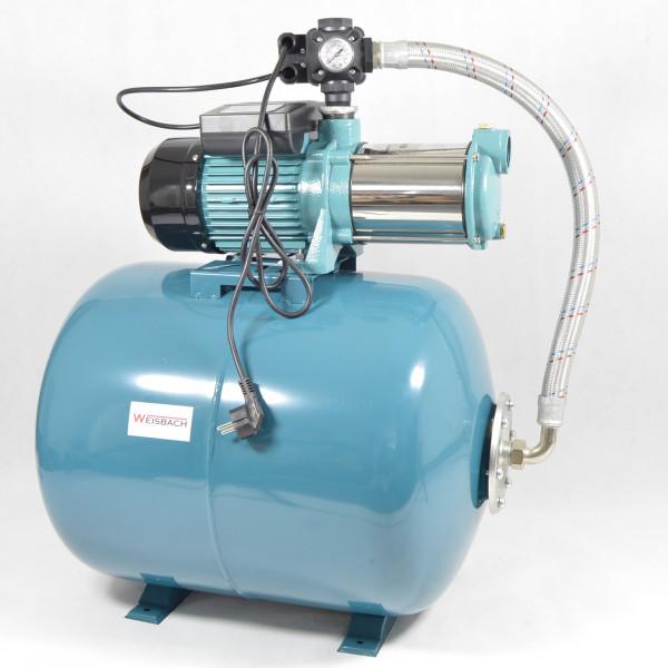 Weisbach Hauswasserwerk Hauswasserautomat 100 L Pumpe MHI2200 - 5,8bar - 9600L/h