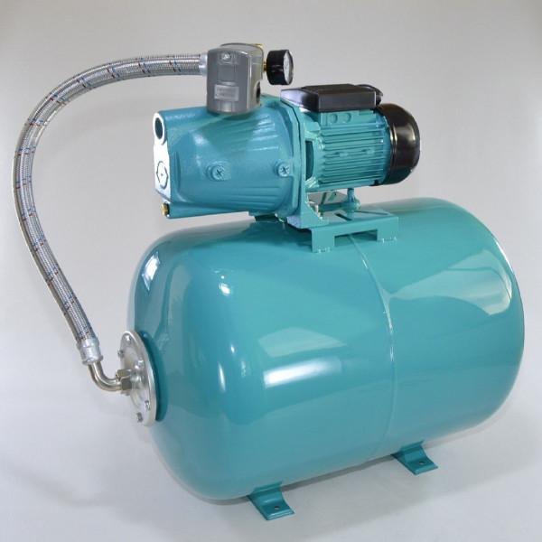 100 L Hauswasserwerk Pumpe 1100 W Hauswassrautomat Gartenpumpe
