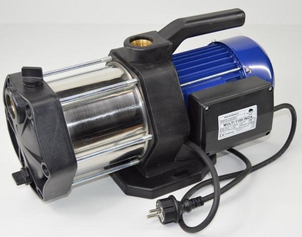 Gartenpumpe Kreiselpumpe Multi 1100 INOX 5-stufig Edelstahl 5400 L/h