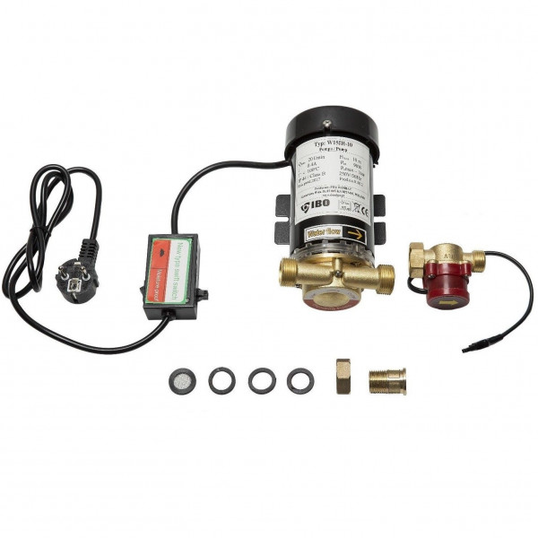 Druckerhöhungspumpe 0,8 - 1 bar Boosterpumpe 230V- 90W - 20L/min f. Dusche