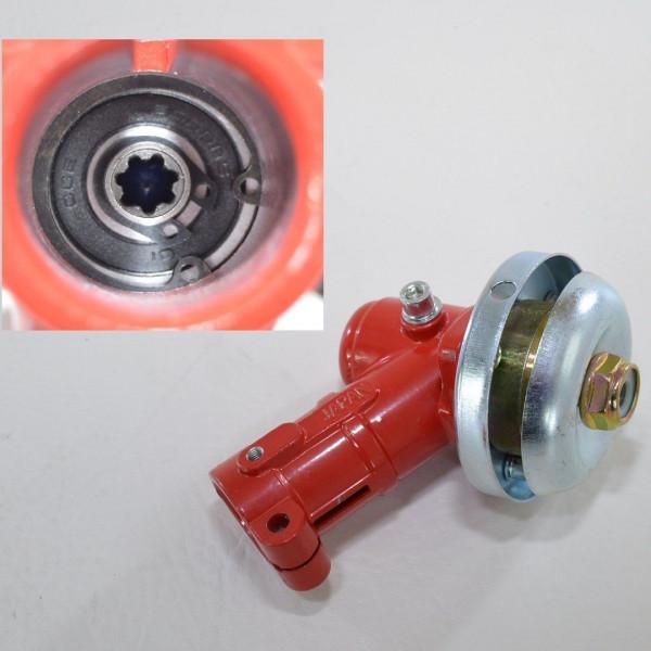 Winkelgetriebe Getriebe Motorsense Freischneider 7 Zahn 26 mm Fadenkopf