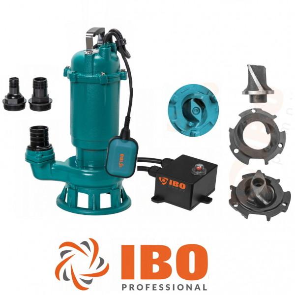Fäkalienpumpe Tauchpumpe Schmutzwasserpumpe CTR 1500W - 24000l/h Schneidmesser