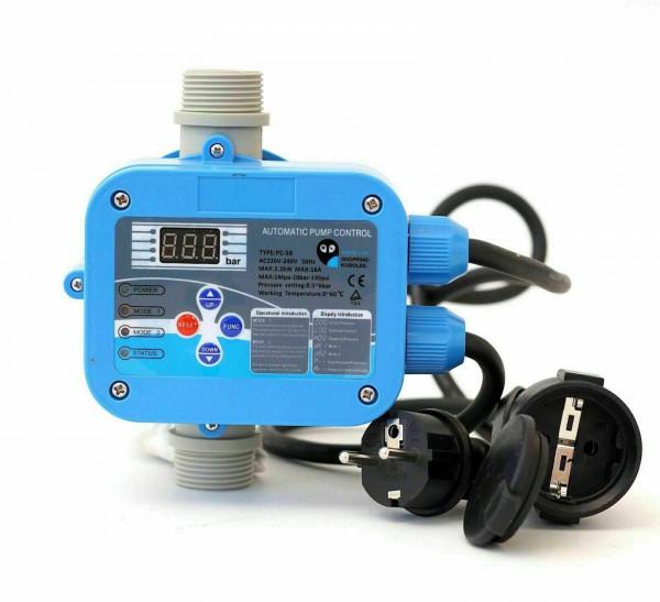 Digitale vollautomatische Pumpensteuerung PC-58 für Gartenpumpen Hauswasserwerk