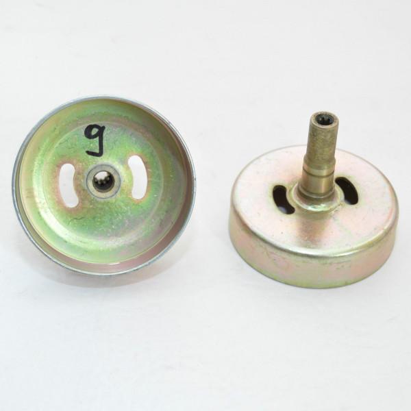 Kupplungsglocke Motorsense Freischneider 9 Zahn Antrieb Ø 9 mm