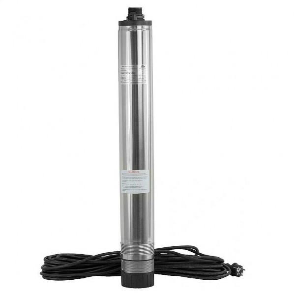 Zisternenpumpe Tiefbrunnenpumpe Brunnenpumpe Automat 98 mm bis 3300 l/h 5,8bar
