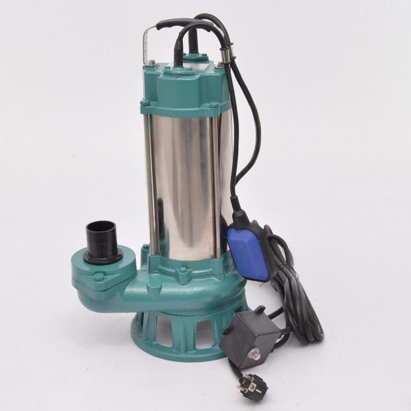 Fäkalienpumpe Tauchpumpe Schmutzwasserpumpe 2,2kW m. Cutter 400l/min.