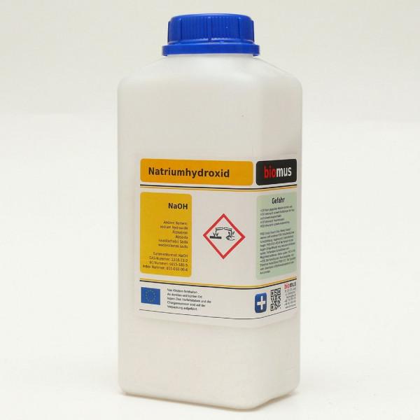 1 kg Ätznatron 100% Ätzsoda NaOH Natriumhydroxid Mikroperlen Feststoff