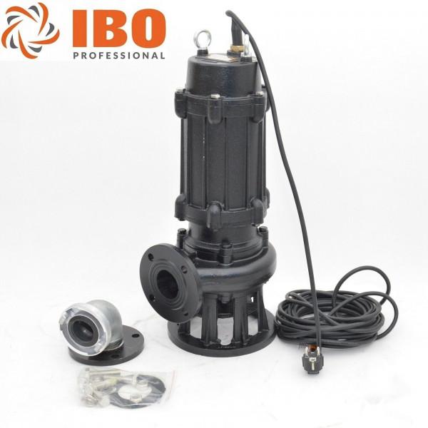 Fäkalienpumpe 1,5kW - 230V Schmutzwasserpumpe Fördermenge 24000l/h 400 l/min