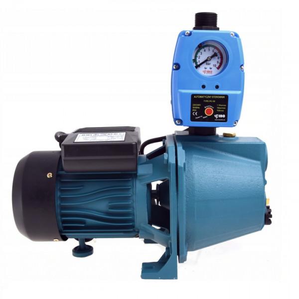 Kreiselpumpe Gartenpumpe 1100 Watt 3600 L/h 5 bar Messingrad m. Pumpensteuerung