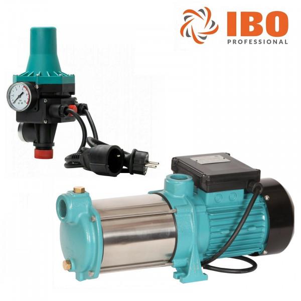 Kreiselpumpe Hauswasserwerk Gartenpumpe MH 1300 INOX 1300W 6000 L/h m. Steuerung