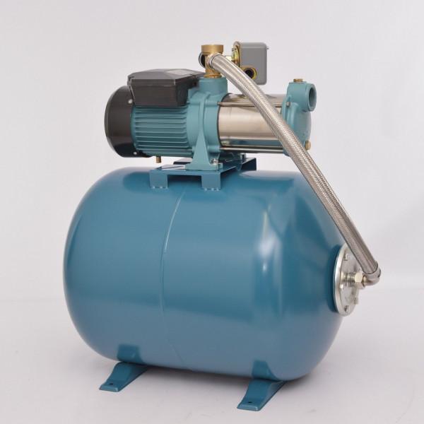 Hauswasserwerk 80 Liter mit Gartenpumpe MHI 1300Watt 5-stufig