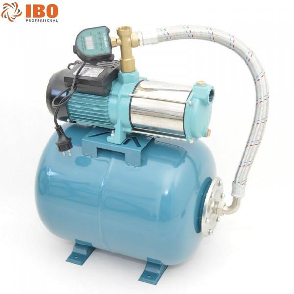 Hauswasserwerk 50 Liter 5-stufige Pumpe MHi1300 6000l/h + Trockenlaufschutz DTS