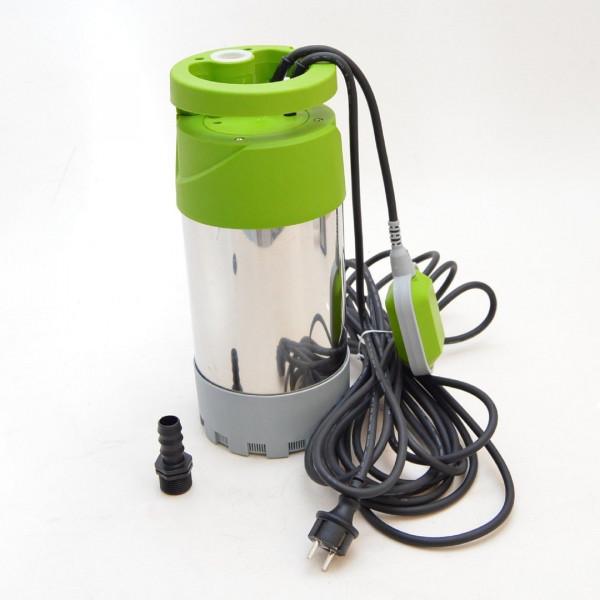 Tauchpumpe Tauchdruckpumpe 4 bar 1000W 5520l/h Feststoffe bis 5 mm Regenwasser Hochdruckpumpe