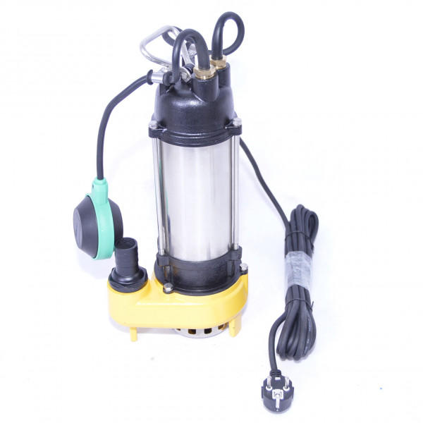 Profi Schmutzwasserpumpe WQF250 170l/min. Tauchpumpe Fäkalienpumpe