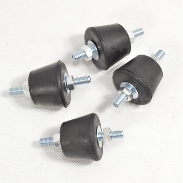 4 x M8 Inventer Klimaanlage Schwingungsdämpfer Antivibrationsfüße Klimagerät